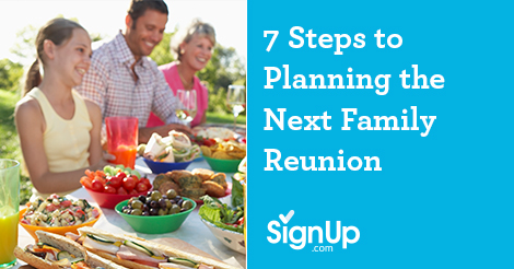 Steps to planning a successful family reunion this summer