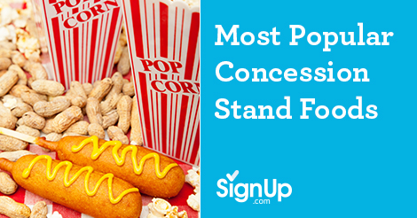 Most Popular Concession Stand Foods for Successful Fundraisers