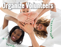 Organizing Volunteers for your Fundraiser