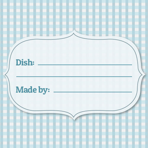 free potluck printables and meal cards