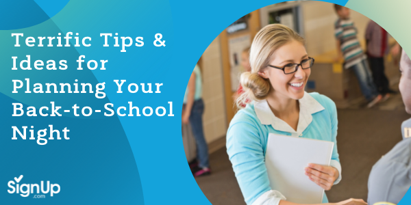 back to school night ideas and tips