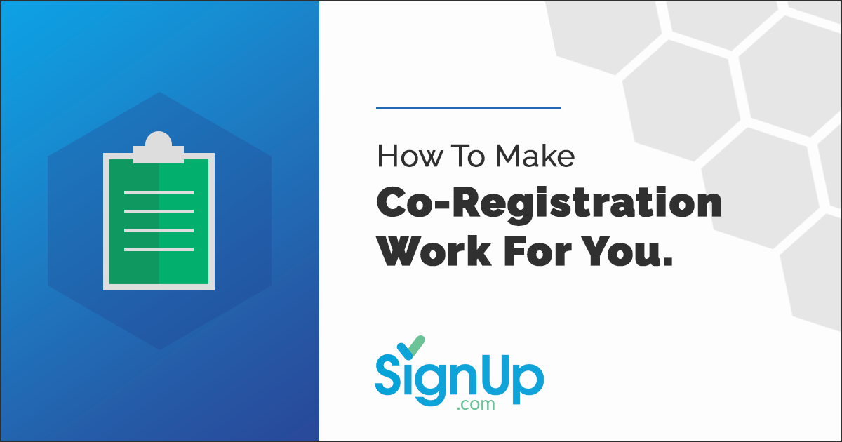 Co-Registration with SignUp