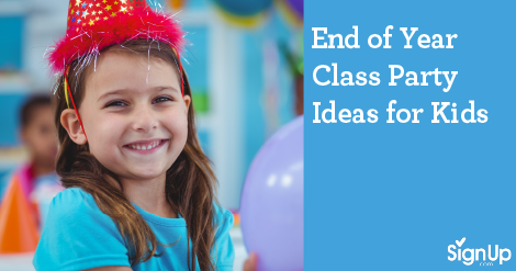 End of Year School Class Party Ideas for Kids