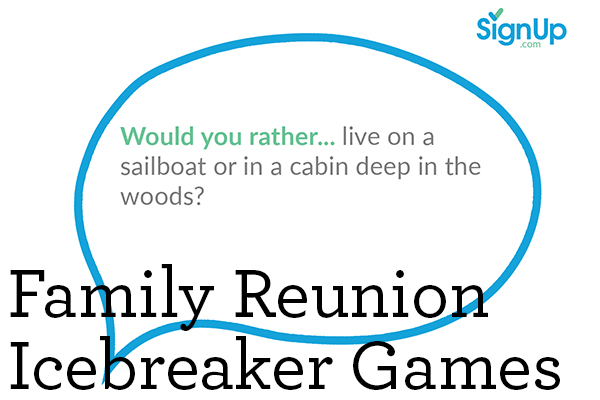 Family Reunion Icebreaker Game