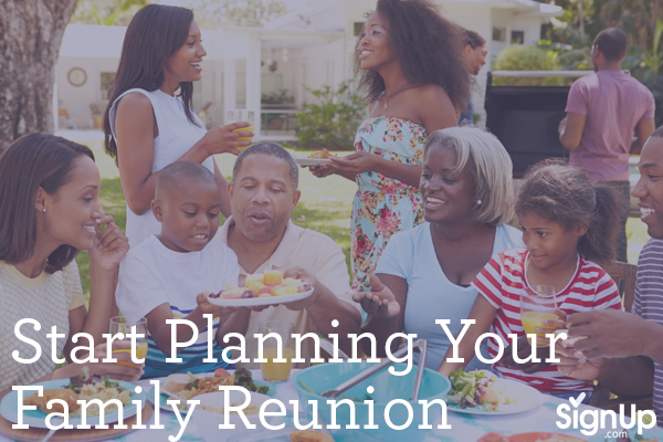 Start Planning Your Family Reunion Picnic Barbecue