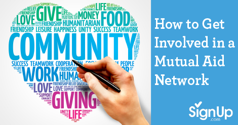 Participate in a mutual aid network