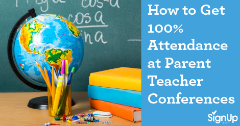 #1 Parent Teacher Conference Scheduling Software