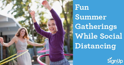 summer gatherings during social distancing