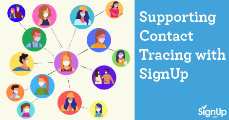 use SignUp for contact tracing coronavirus