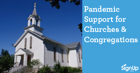 SignUp supports churches and faith groups during covid-19