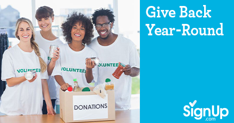Give Back All Year Long
