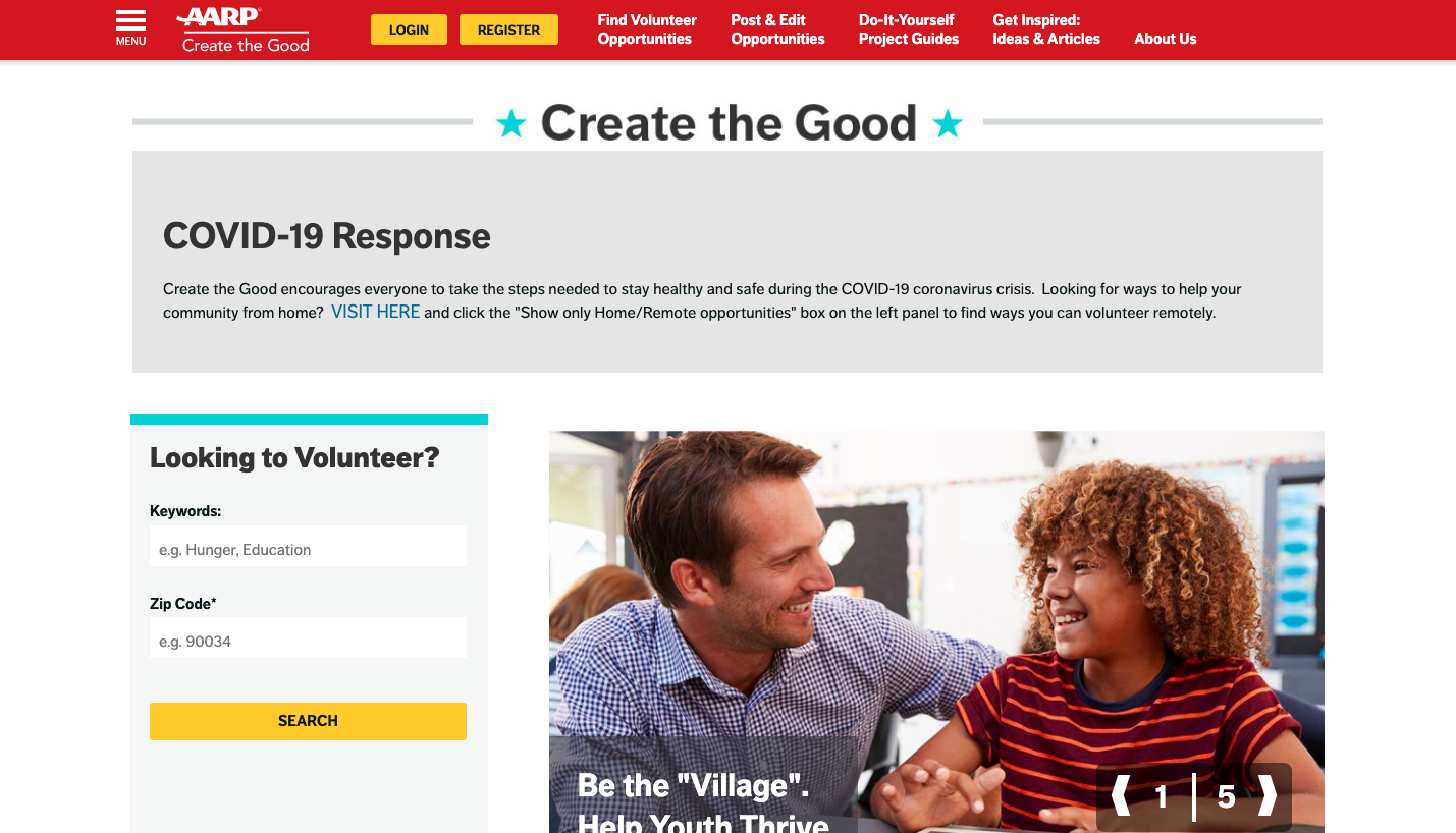 Create the Good by AARP