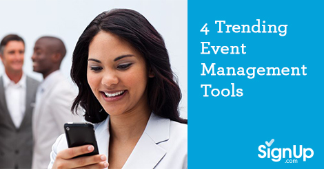 Four Trending Event Management Tools