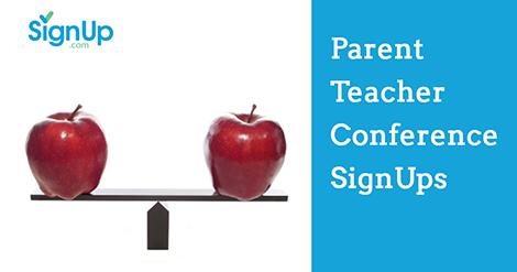 parent teacher conference signups signup com