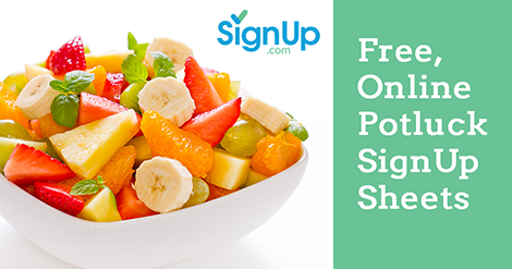 plan the perfect potluck with free sign up sheets signup com