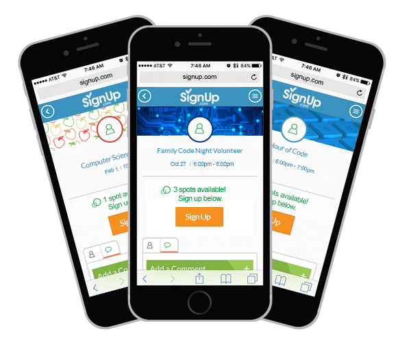 family code night SignUp on iphone