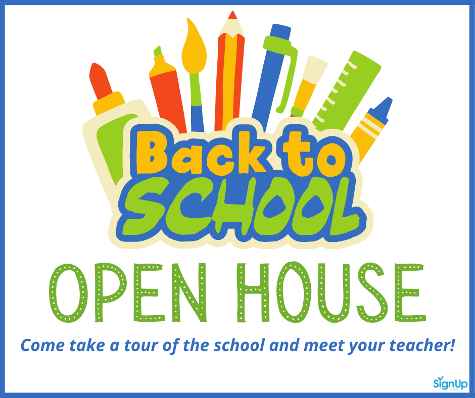 Back to School Open House 2