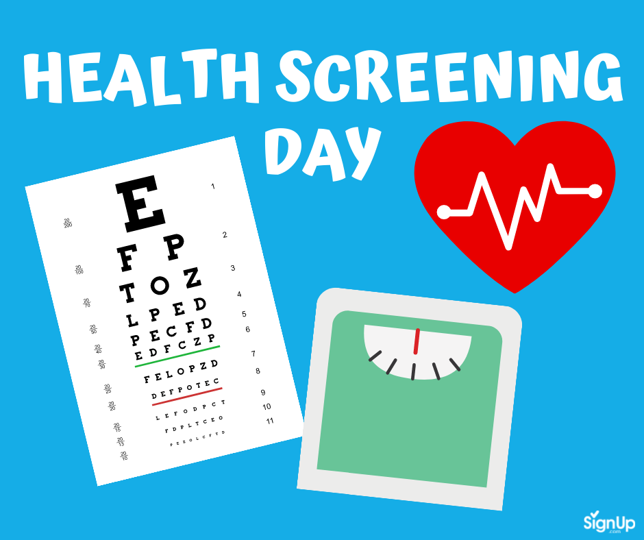 Health Screen Day social graphic