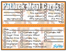 Potluck Planning Time Saving Hints Tips And Reminders