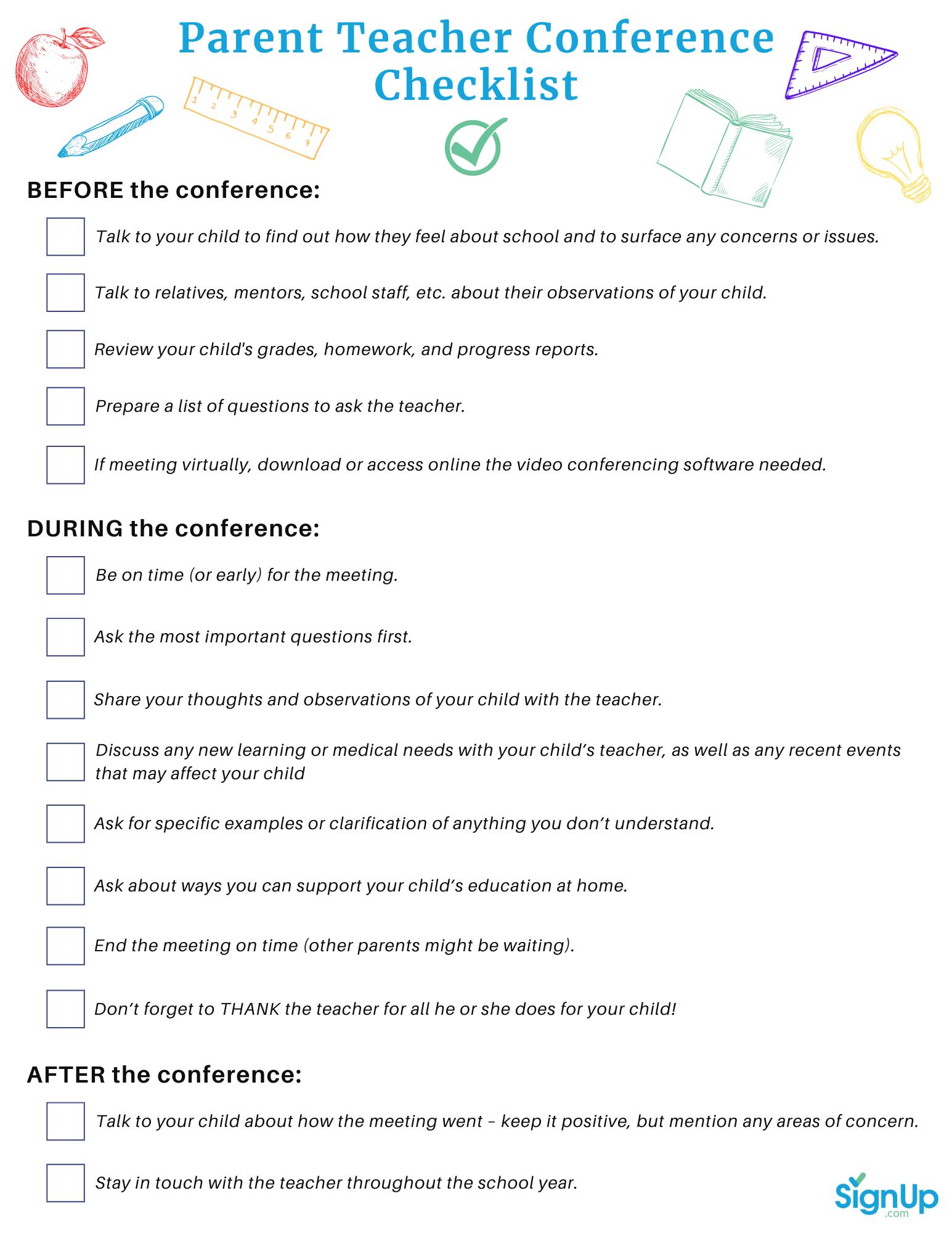 Best Parent Teacher Conference Scheduling Software